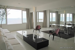 Luxury penthouse in Copacabana, avenida Altantica